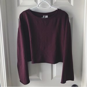 H&M Oversized Cropped Sweater
